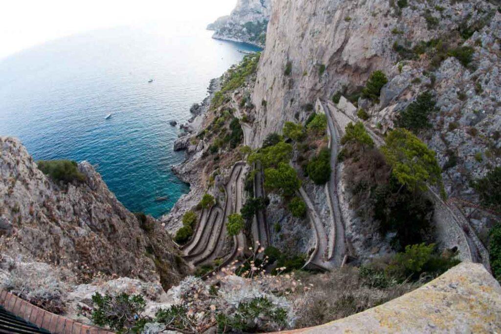 Giardini di Augusto Capri Via Krup