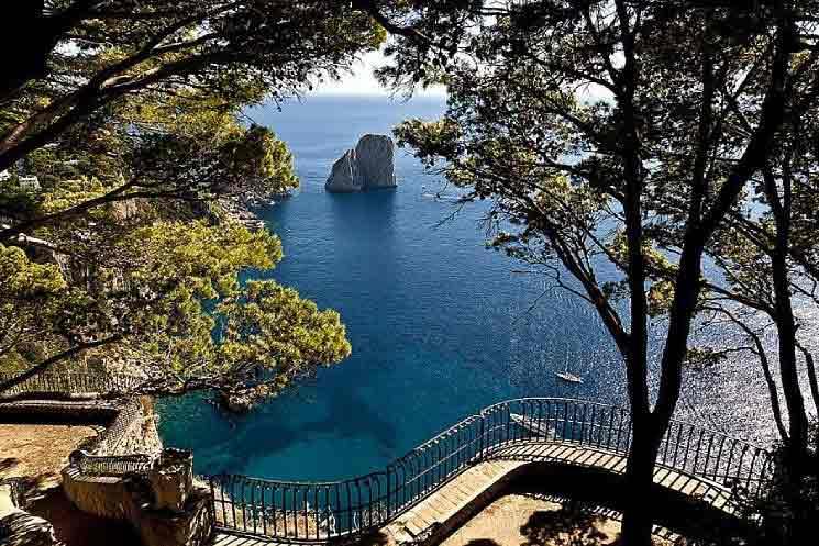Via Tragara Capri Belvedere 1