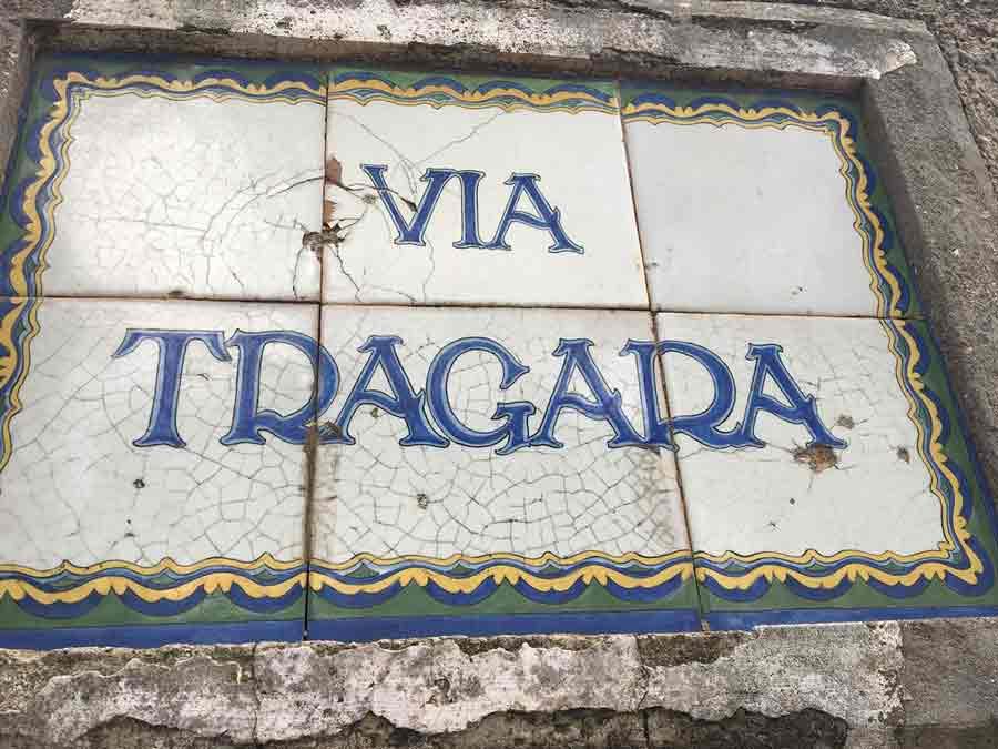 Via Tragara Capri